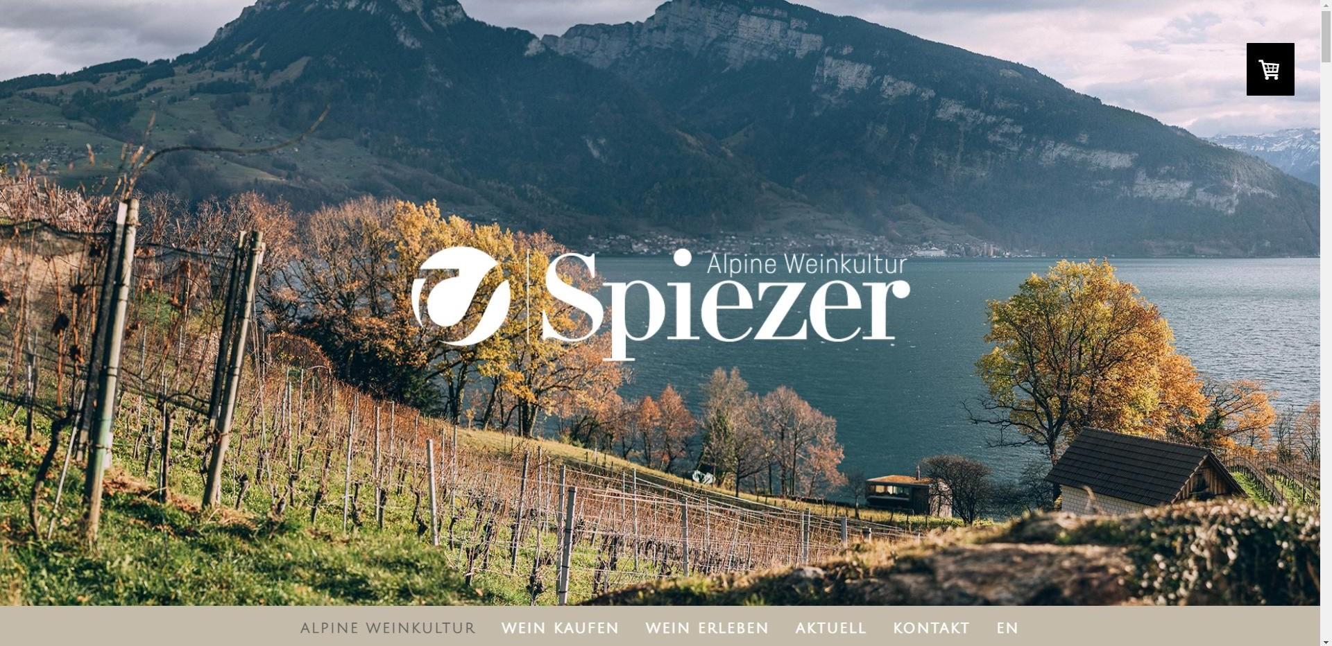 Alpine Weinkultur Einstiegsseite